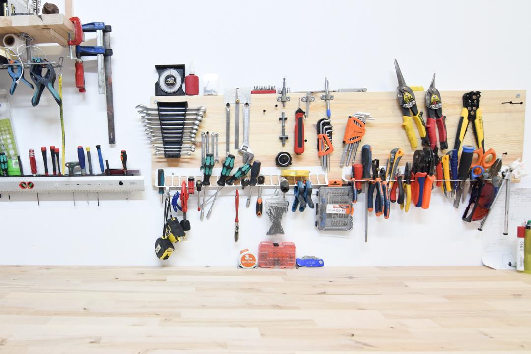 Coworking industrial en Boadilla del Monte - herramientas